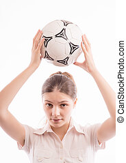 Woman with Ball