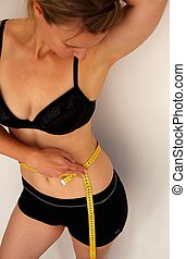 Woman with measuring tape  2