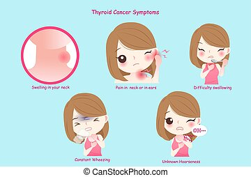 woman with thyroid cancer