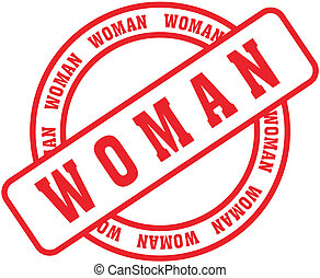 woman word stamp1