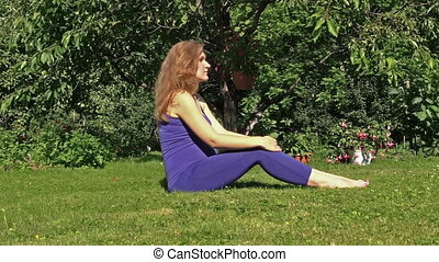 woman yoga outdoor