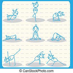 woman yoga set