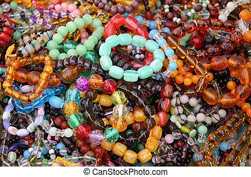 Woman\\\'s Bead Bracelets - Assortment of Woman\\\'s Bead...