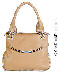 woman's handbag on a background - woman's handbag on the ...