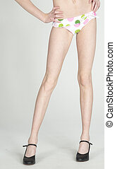 Woman's Legs in High Heels