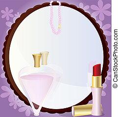 woman's mirror