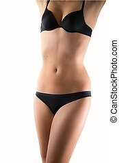 Woman's perfect body