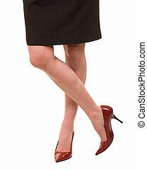 woman\'s, pernas