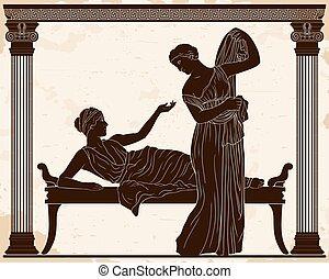 women., ギリシャ語, ベクトル