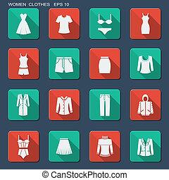 women., ファッション, 衣服