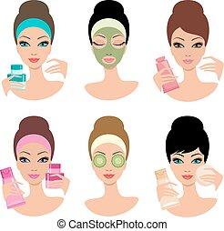 Women and cosmetics