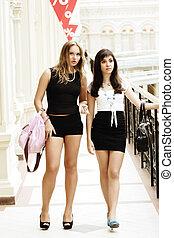 Women at shopping