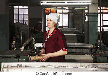 Women at the factory