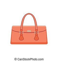 Women bag on a white background