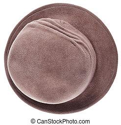 women felt bowler hat