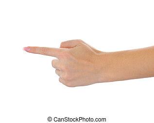 Women hand