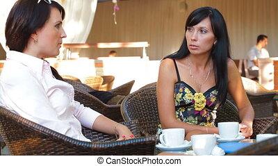 Women Having Coffee Break