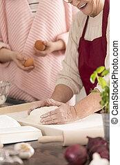 Women in a kitchen