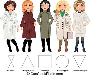 Women in coats