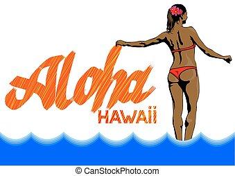 Women in Hawaii two