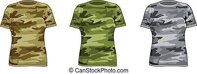 Women military shirts