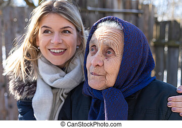 Women of different generations
