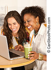Women on a Laptop