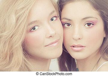 women perfect skin