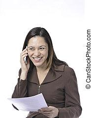 Women receiving good news