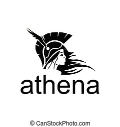 women spartan, Athena goddess from ancient mythology. Female character