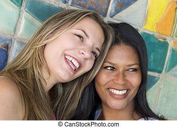 Women - Laughing Women