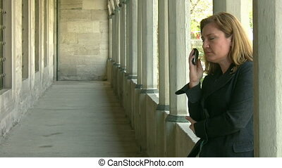 Women Talking On The Phone