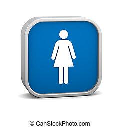 Women Toilets Sign