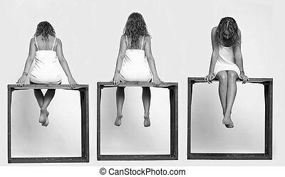 women., trois