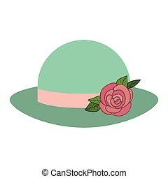 Women vintage hat