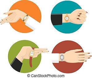 Women Wrist Watches Design Concept