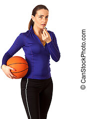 Women's Basketball Coach - Women's basketball coach. Studio ...