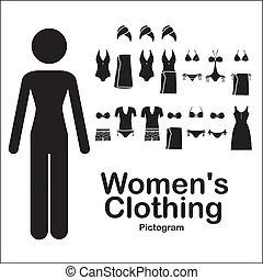 womens, beklädnad