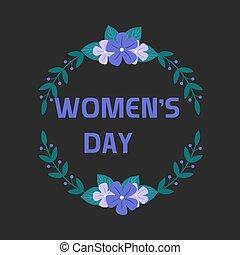 women's, címke, illusztrátor, vektor, állhatatos, nap