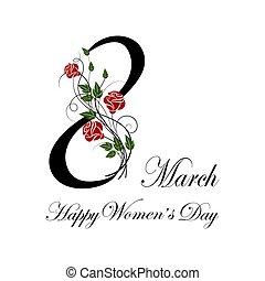 womens, card., augurio, giorno