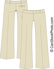 womens casual trousers