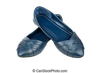 Women's court shoes - Women's summer blue court shoes...