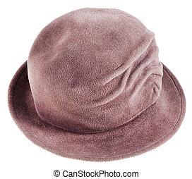 women's felt bowler hat