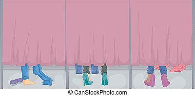 Women's Fitting Room