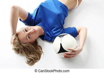 Women's football.