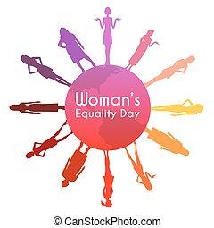womens, gleichheit, tag