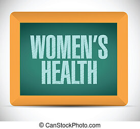 womens health message illustration