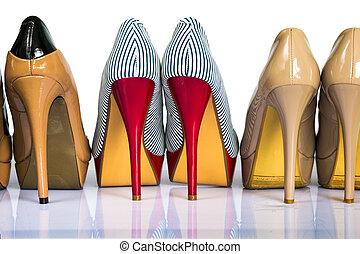 womens, heels, schoentjes