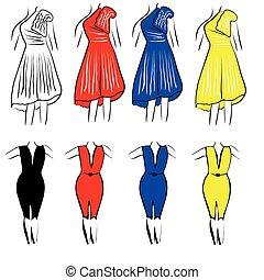 womens, jurken