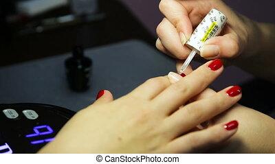 Women's manicure, Nail Polish